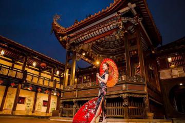 Nhà vườn cổ nhà họ Lâm Đài Trung - một trong 'Tứ đại danh thắng' của Đài Loan