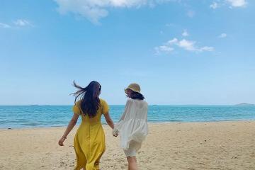 Thả hồn vào yên bình, tĩnh lặng của bãi biển Quy Hòa - Quy Nhơn