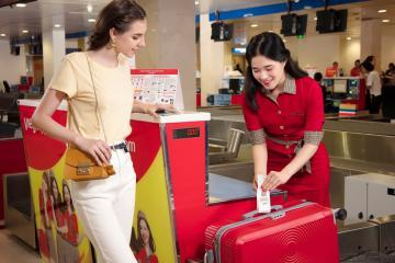 Hàng không Vietjet miễn phí hành lý ký gửi khi bay nội địa
