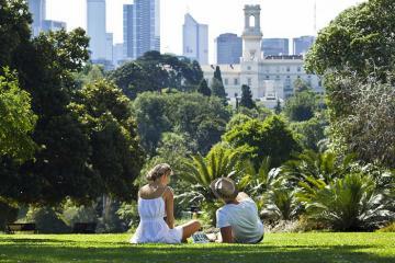 Trải nghiệm rừng trong thành phố ở Vườn Bách thảo Hoàng gia Victoria