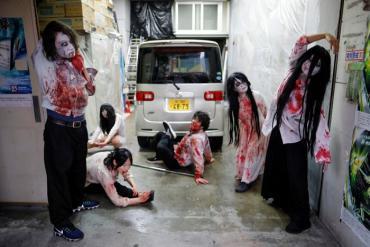 Trải nghiệm sợ hãi cùng ngôi nhà ma ở Tokyo với chủ đề 'Lái xe'