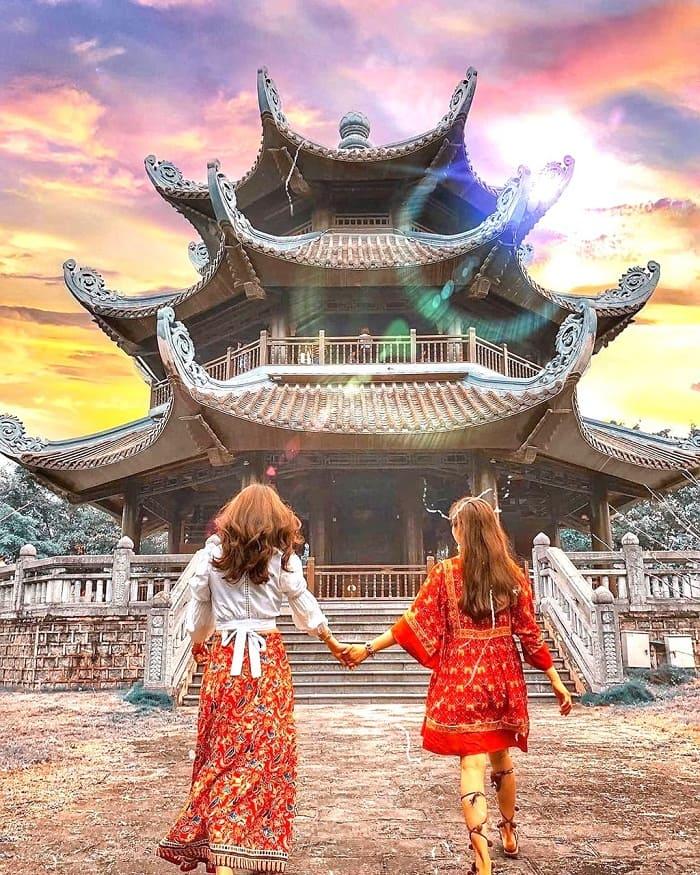 The beauty of Bai Dinh pagoda - attractions near Thien Ha Ninh Binh cave