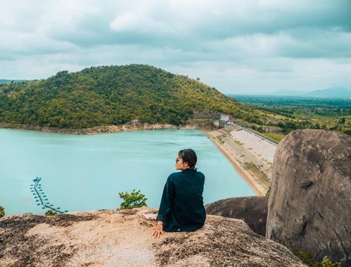 cách đến ở hồ AYun Hạ Gia Lai