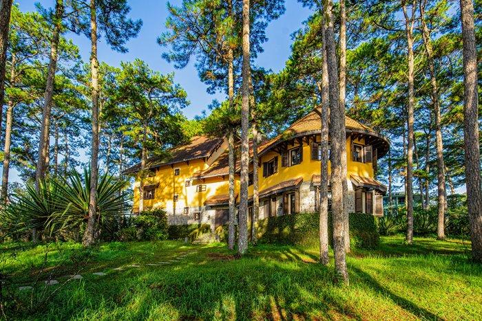 không gian ở Ana Villas Dalat Resort & Spa- khu nghỉ dưỡng giữa rừng ở Đà Lạt