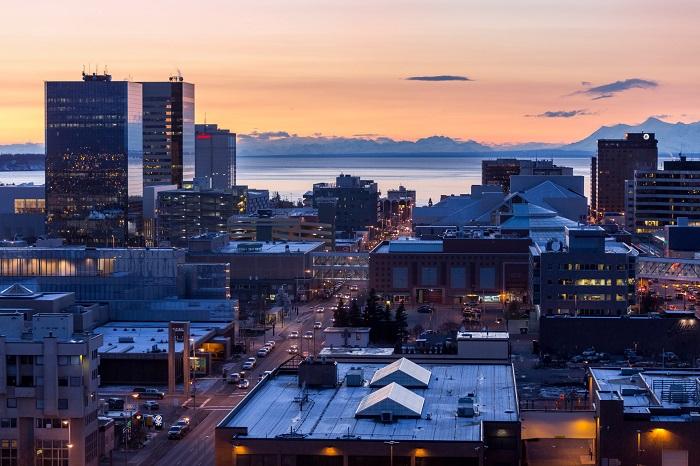 Thành phố Anchorage - Kinh nghiệm du lịch Alaska