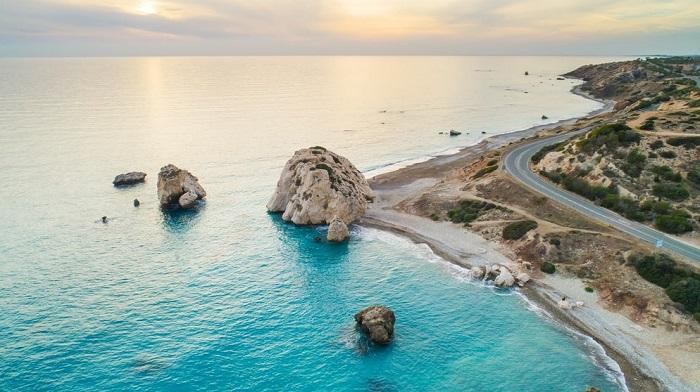 Hòn đá Aphrodite - Du lịch đảo Síp