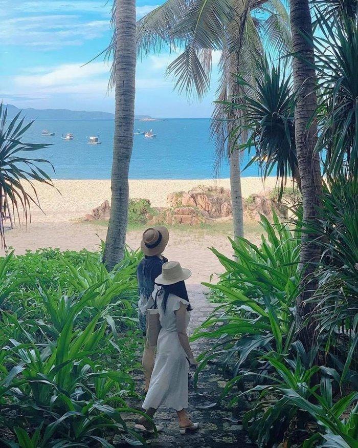 cảnh sắc tại Avani Quy Nhon Resort 5 sao Quy Nhơn