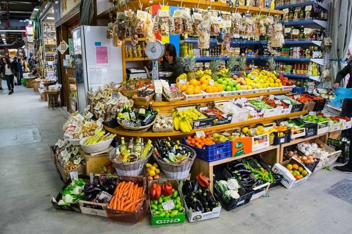 Khu chợ Mercato Centrale - Ẩm thực Florence