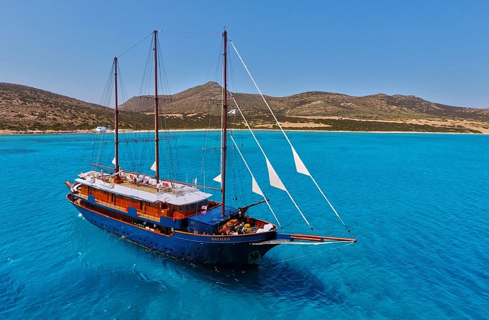 Du thuyền các đảo nhỏ Hy Lạp - Du thuyền Địa Trung Hải