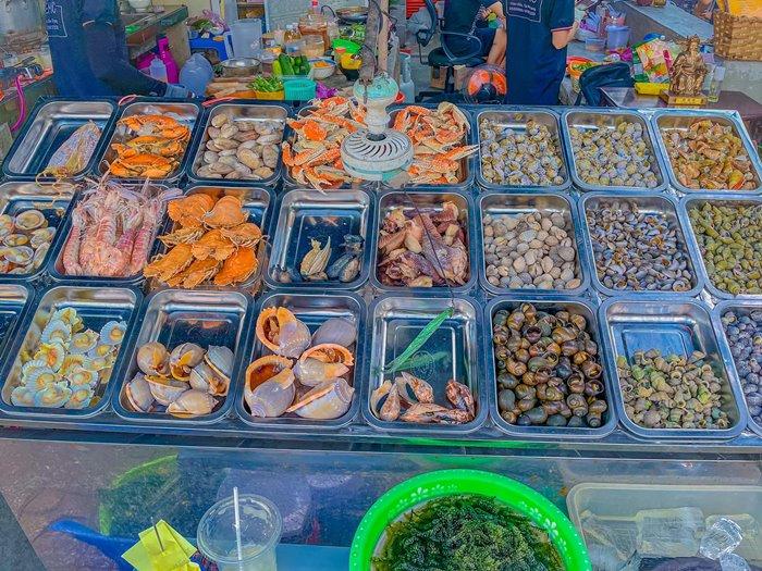 Hẻm ốc Vân Đồn - quán ốc ngon ở Nha Trang