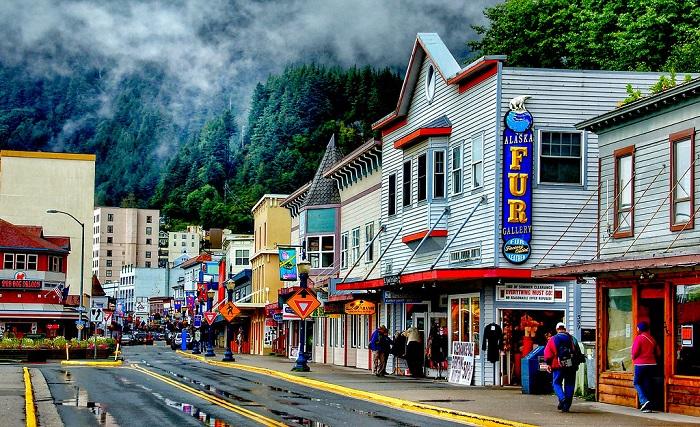 Thủ phủ Juneau Alaska - Kinh nghiệm du lịch Alaska
