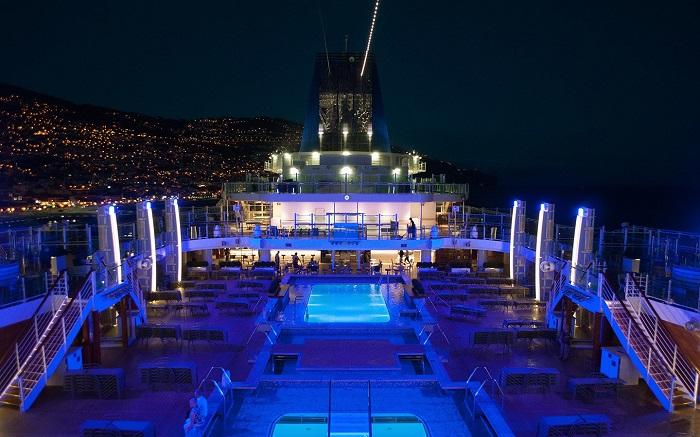 P&O Cruises - Du thuyền Địa Trung Hải