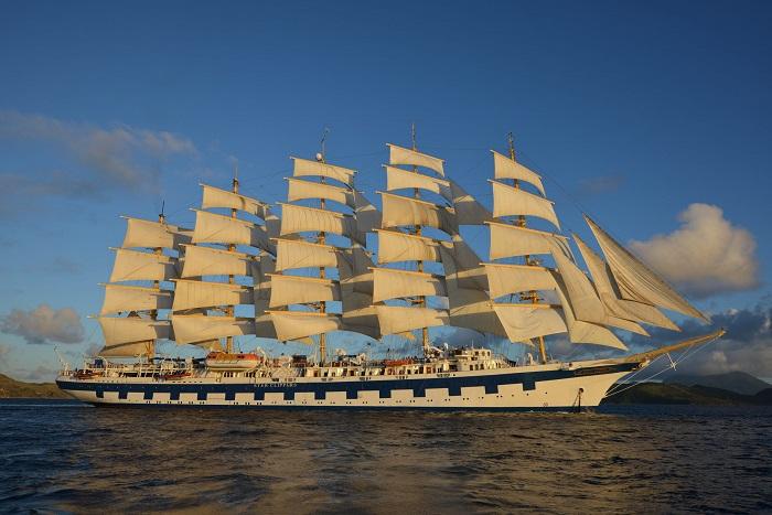 Tàu Star Clippers - Du thuyền Địa Trung Hải