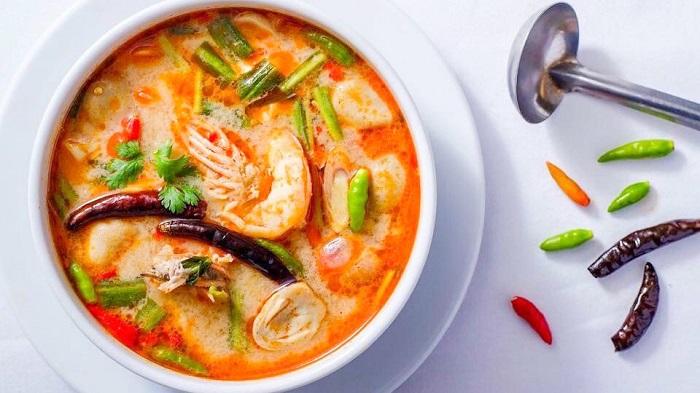 MónTom Yum - món ăn cay nhất thế giới