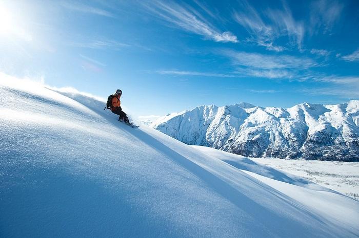 Trượt tuyết ở Alaska - Kinh nghiệm du lịch Alaska