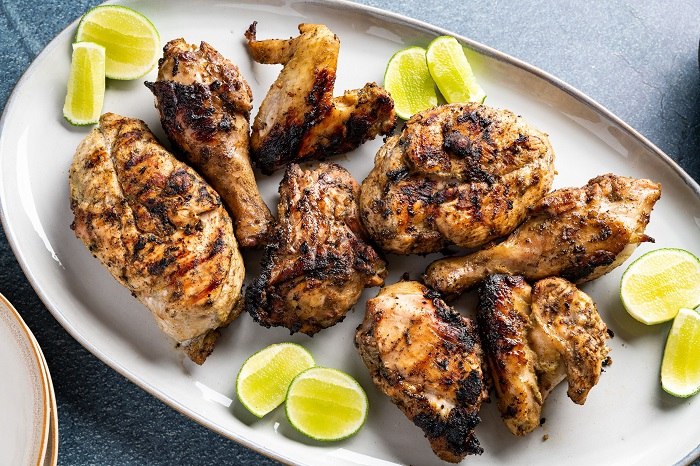 Jamaica Jerk Chicken - Món ăn cay nhất thế giới