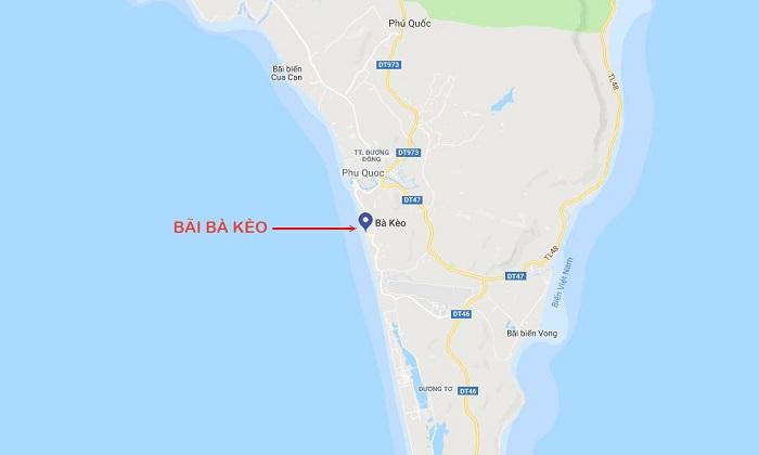 Ba Keo beach Phu Quoc - move