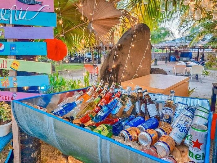 Bãi biển nhân tạo Cần Thơ -ăn uống