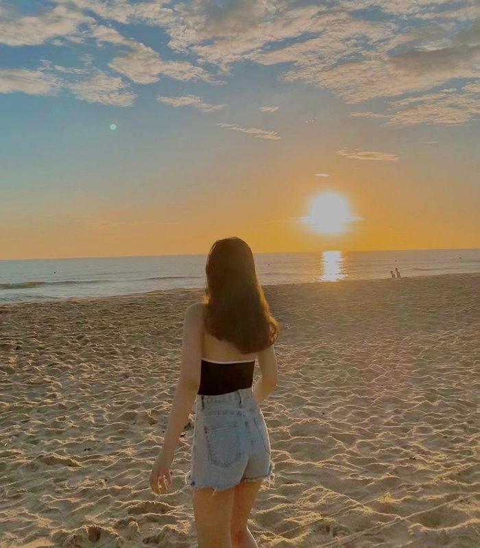 hoàng hôn Thuận An - bãi biển đẹp ở Huế