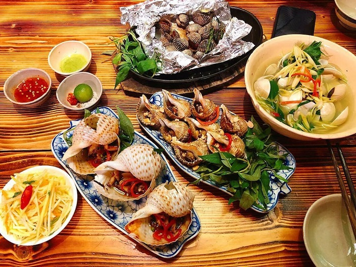 bãi biển Vũng BầuPhú Quốc - ăn uống