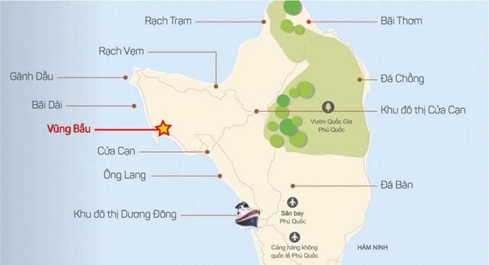 bãi biển Vũng BầuPhú Quốc - đi lại