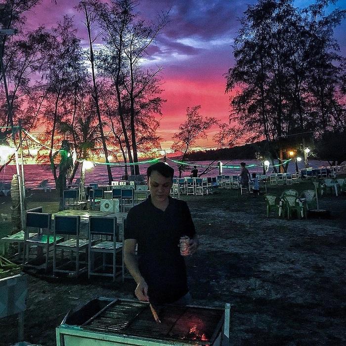 Ong Lang Beach Phu Quoc - BBQ party