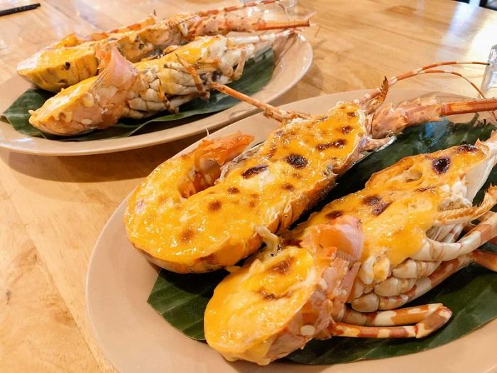 Ong Lang beach Phu Quoc - eat seafood