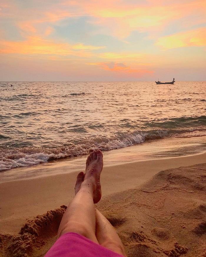 Ong Lang beach Phu Quoc - watch the sunset