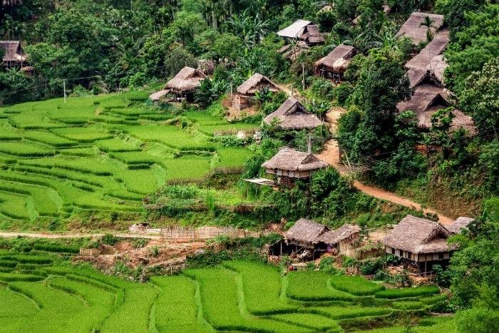 nhà sàn - nét đẹp của thung lũng Kho Mường
