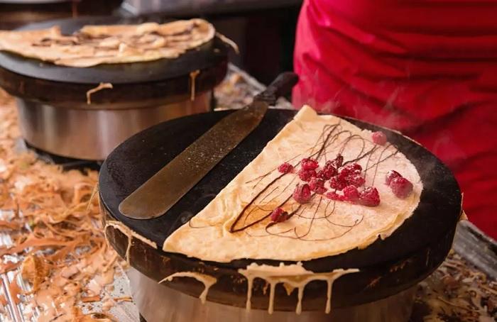 Crepe tại Pháp - Top 16 món ăn đường phố ngon nhất thế giới
