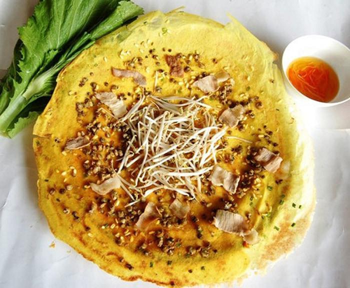 Du ngoạn khu du lịch vườn Ba Ngói - Bánh xèo ốc gạo