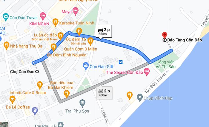 bảo tàng Côn Đảo - di chuyển