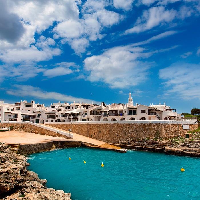Làng Binibeca - Du lịch đảo Menorca