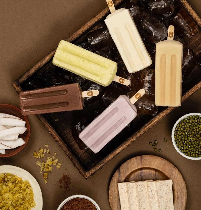 Hương vị thơm ngon của kem Tràng Tiền Hà Nội