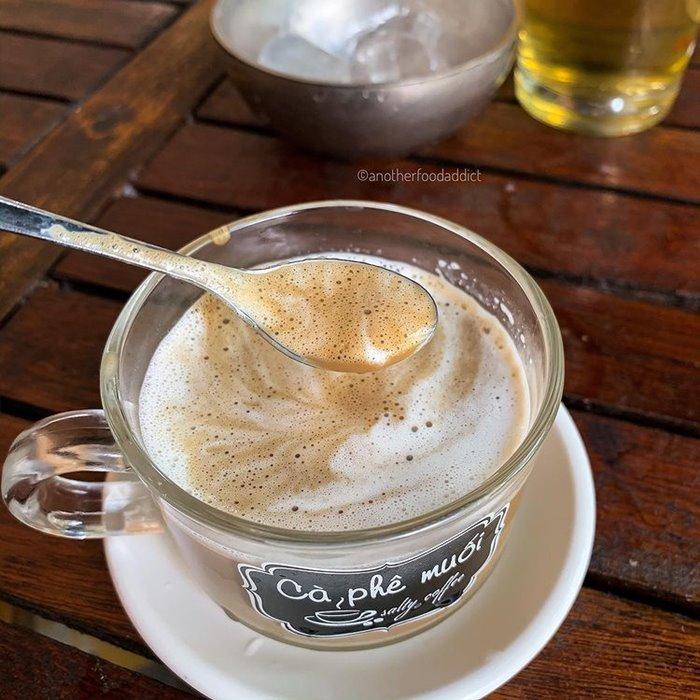 hương vị  cà phê muối xứ Huế