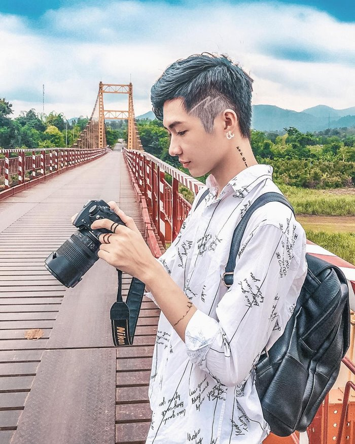 Cầu treo Kon Klor địa điểm sống ảo chất ở Kon Tum