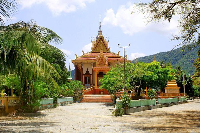 Check in chùa Cọc An Giang - Kos Ong Deth