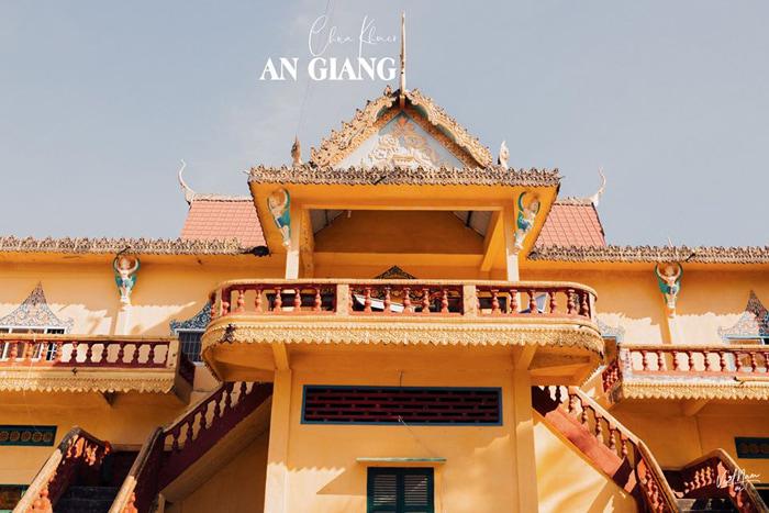 Check in chùa Cọc An Giang - Chùa Khmer