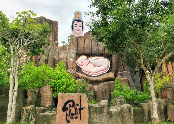 Vãn cảnh chùa Phật Học 2 - Chùa nổi tiếng