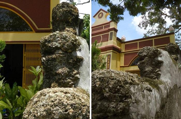 chùa Tam Bảo Hà Tiên-dấu tích trong chùa