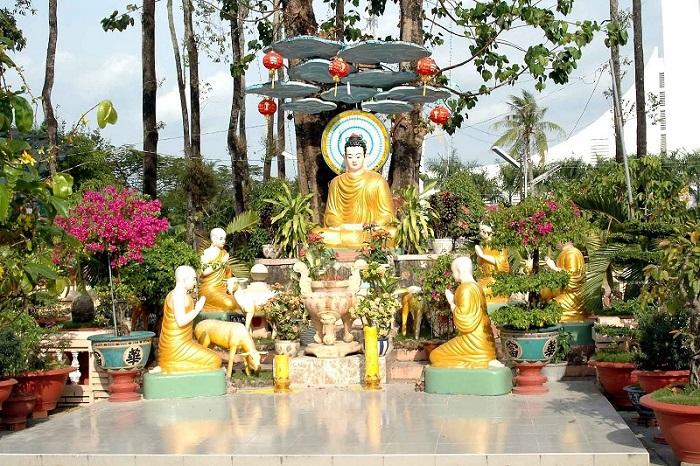 chùa Tam Bảo Hà Tiên- vãn cảnh chùa