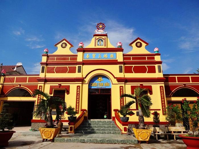chùa Tam Bảo Hà Tiên- kiến trúc độc đáo