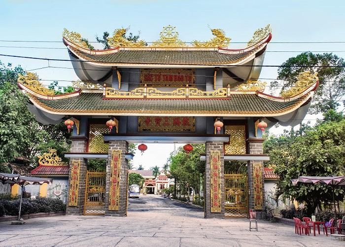chùa Tam Bảo Hà Tiên- địa chỉ