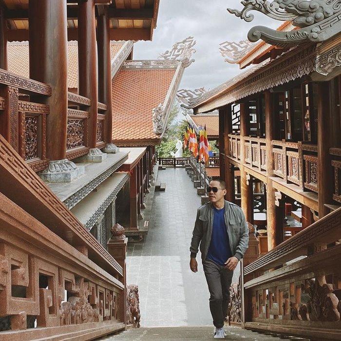 Chùa Sắc Tứ Khải Đoan địa điểm chụp ảnh đẹp ở Đắk Lắk