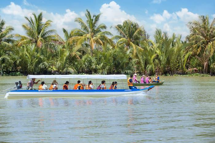 Về cồn Phú Đa - thuộc xã Vĩnh Bình