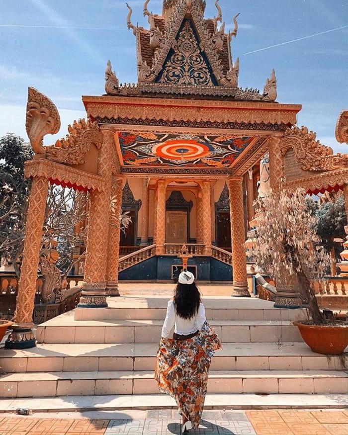 Check in chùa Cọc An Giang - Công trình phản ánh văn hóa