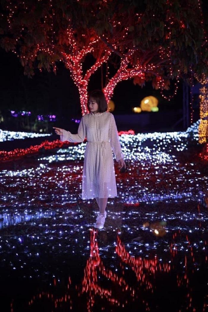 công viên ánh sáng Pha Luông cực ảo diệu
