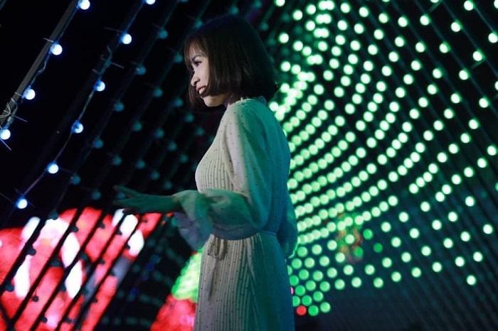Đêm hội âm nhạc sôi động tại công viên ánh sáng Pha Luông