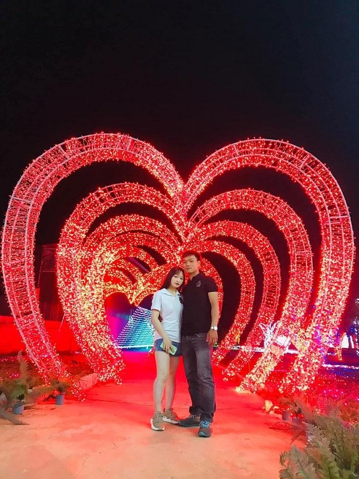Lễ hội ánh sáng tại công viên ánh sáng Pha Luông
