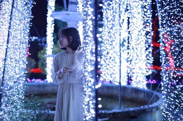 Công viên là nơi tổ chức các sự kiện quan trọng của Mộc Châu